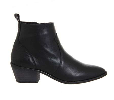 Office Leigh unlined western boots
