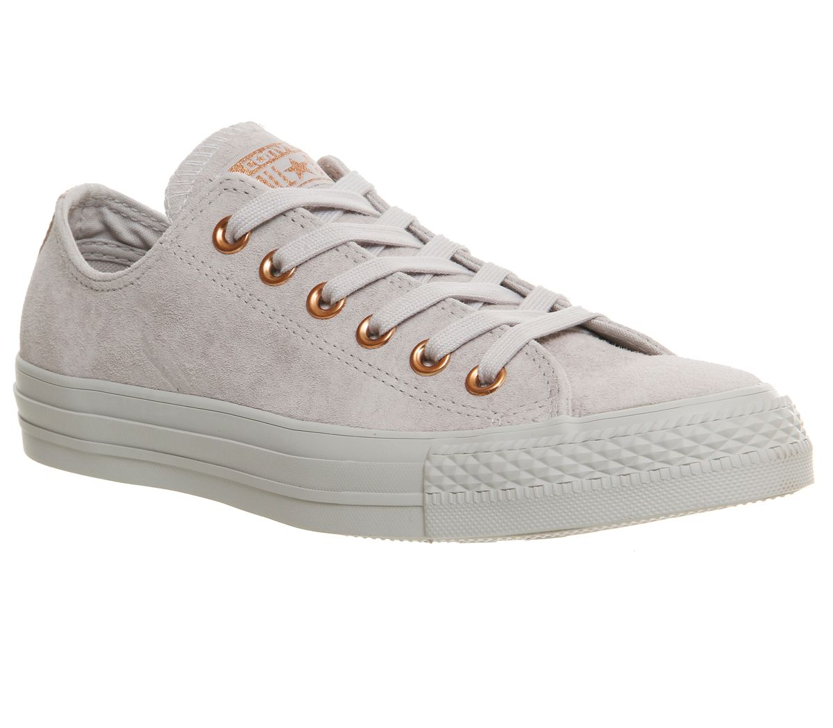 Converse Allstar low leather trainers, Grey