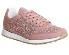 Office Party glitter trainers