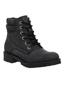 Adventure utility ankle boots