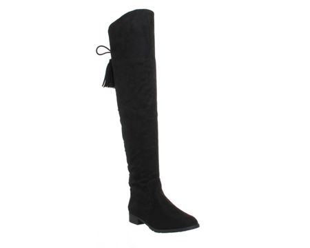 Office Knock knock over the knee boots
