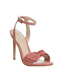 Harmony bow trim sandals