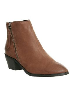 Austin side zip ankle boots