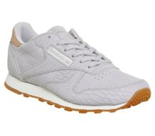 Reebok Cl leather clean trainers