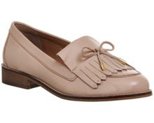 Office Filtered tassel and bow trim loafers