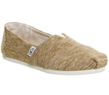 Toms Seasonal classic slip on pumps