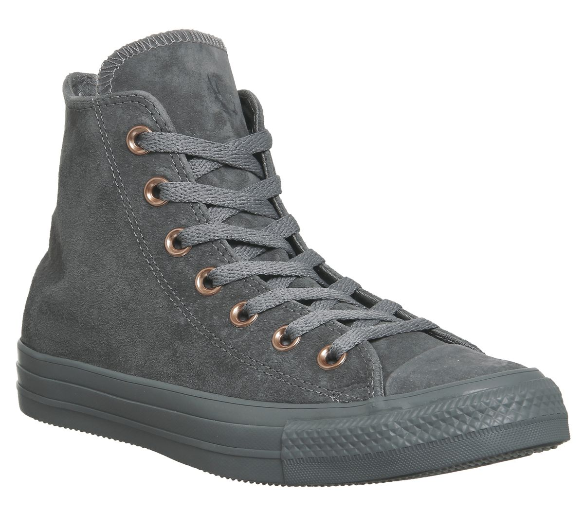 Converse Converse All Star Hi Leather Trainers, Grey