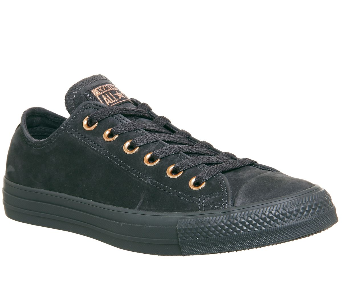Converse Converse Allstar Low Leather Trainers, Black