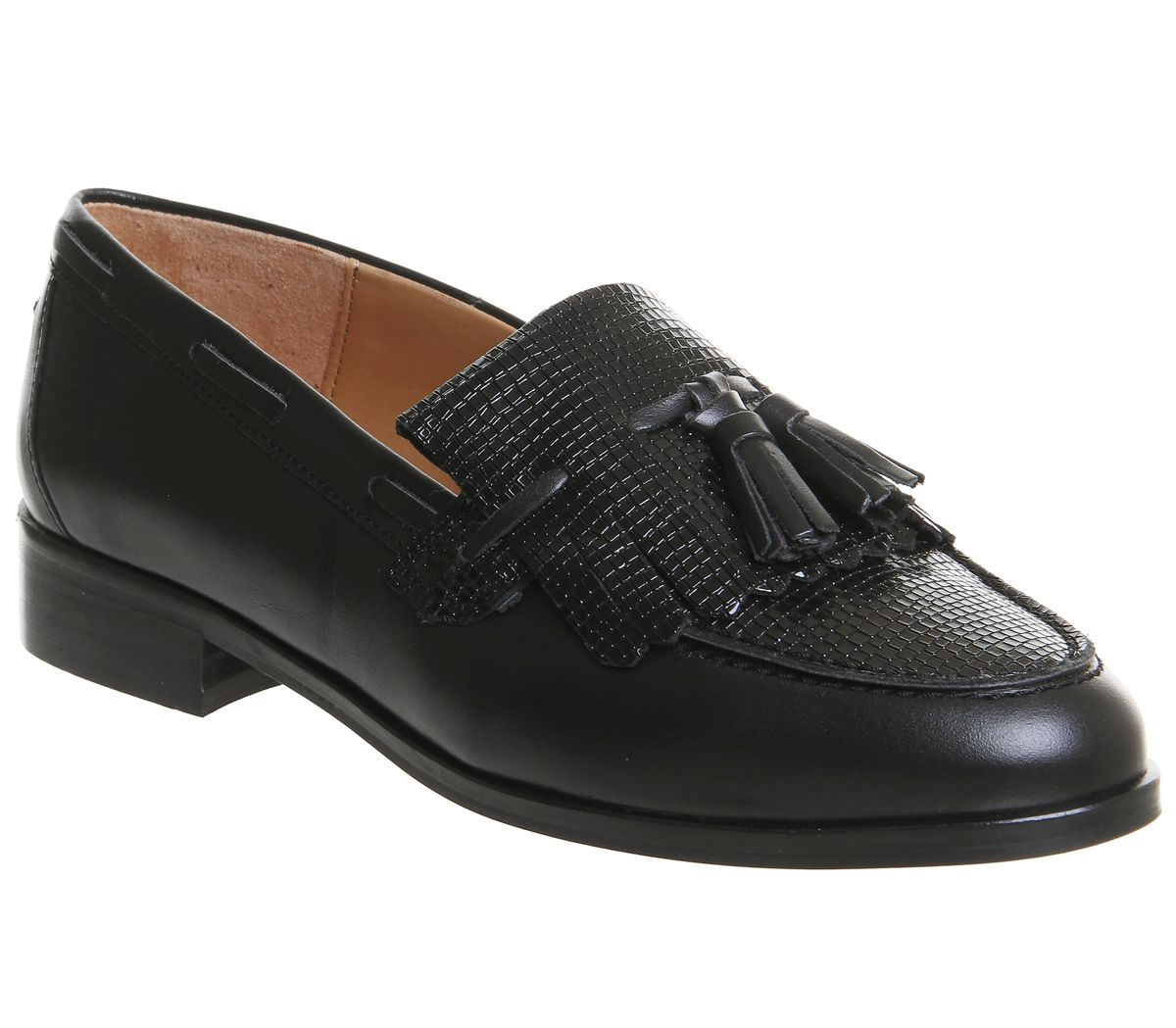 Office Extravaganza 2 Loafers, Black Leather