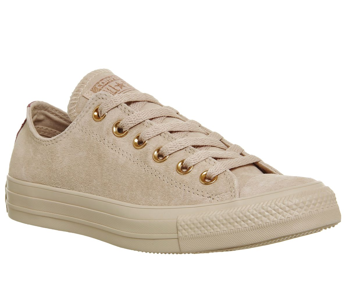 Converse Converse Allstar Low Leather Trainers, Cream