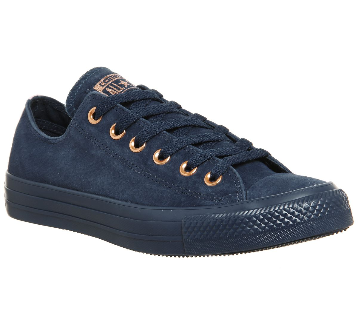 Converse Converse Allstar Low Leather Trainers, Blue