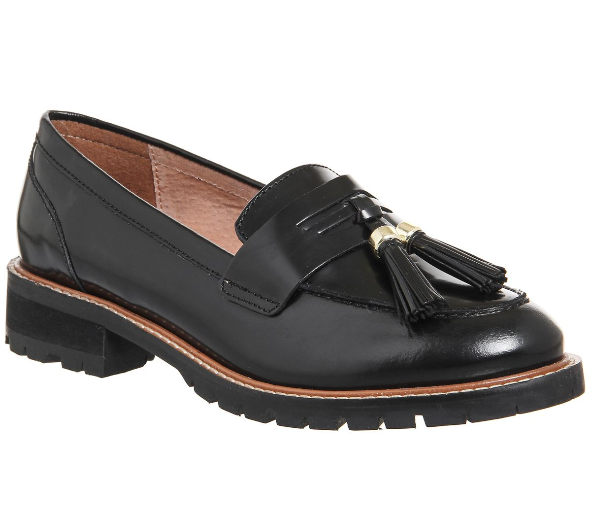 Office Frennedy Loafers, Black