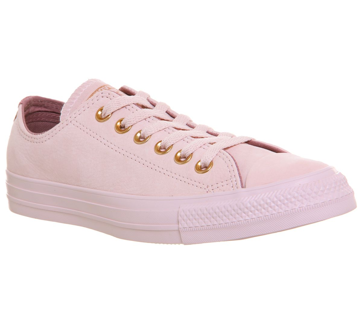 Converse All Star Low Leather Trainers, Rose