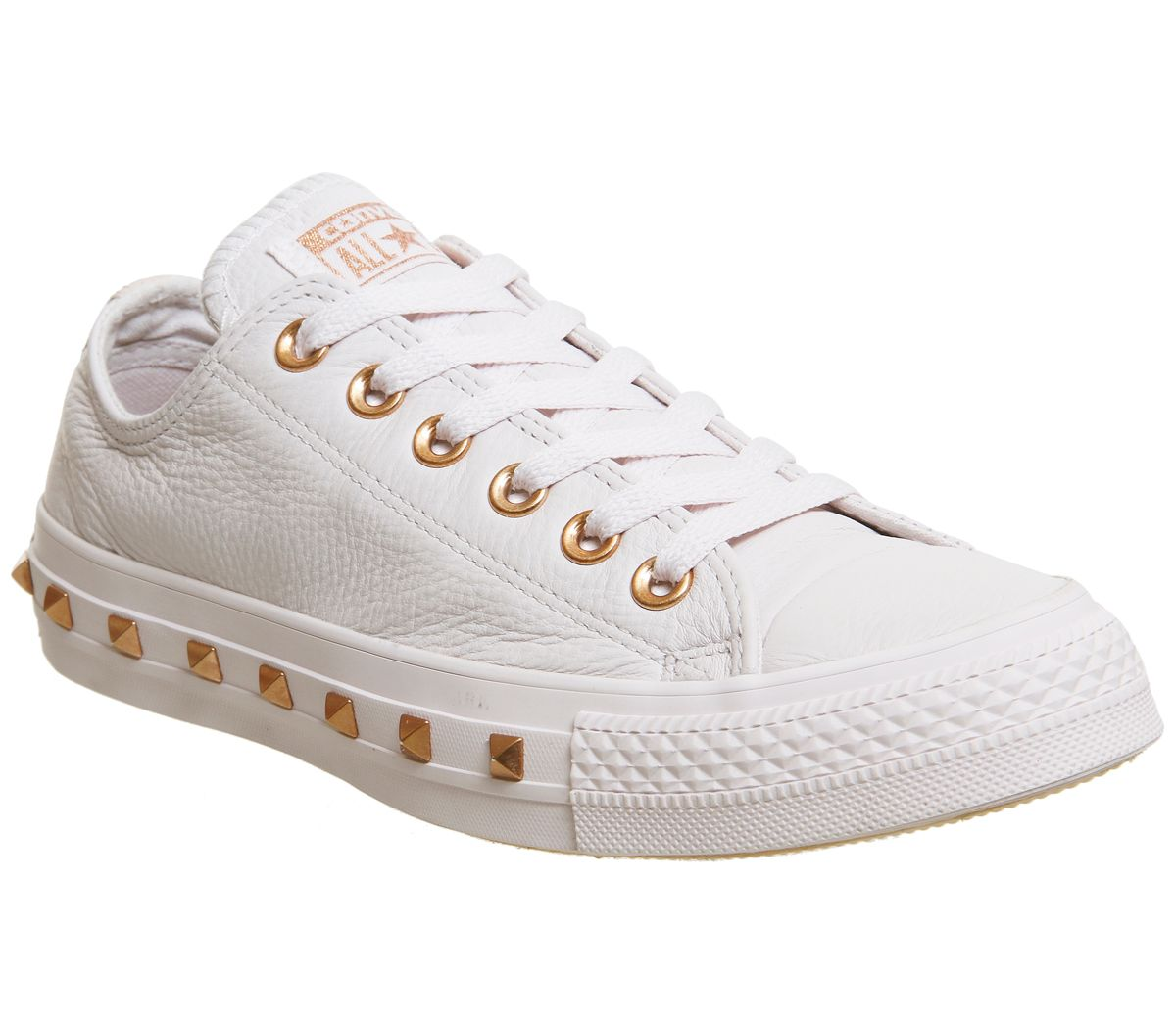 Converse All Star Low Leather Trainers, Multi-Coloured
