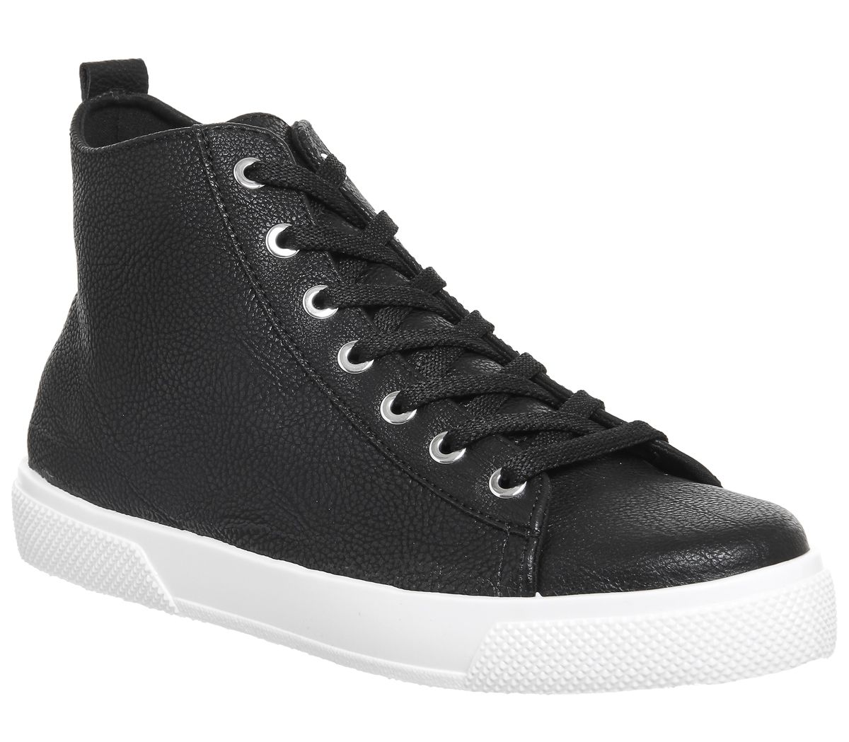 Office Freeze High Top Trainers, Black