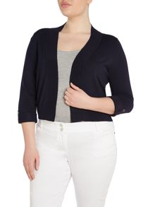 Plus Size Soft knitted shrug