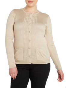 Plus Size Front detailed Cardigan
