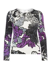 Plus Size Printed jumper