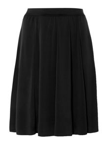Panelled A Line Skirt