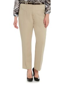 Plus Size Tailored trouser with belt