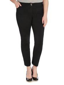 Plus Size Comfort waist ankle length trousers