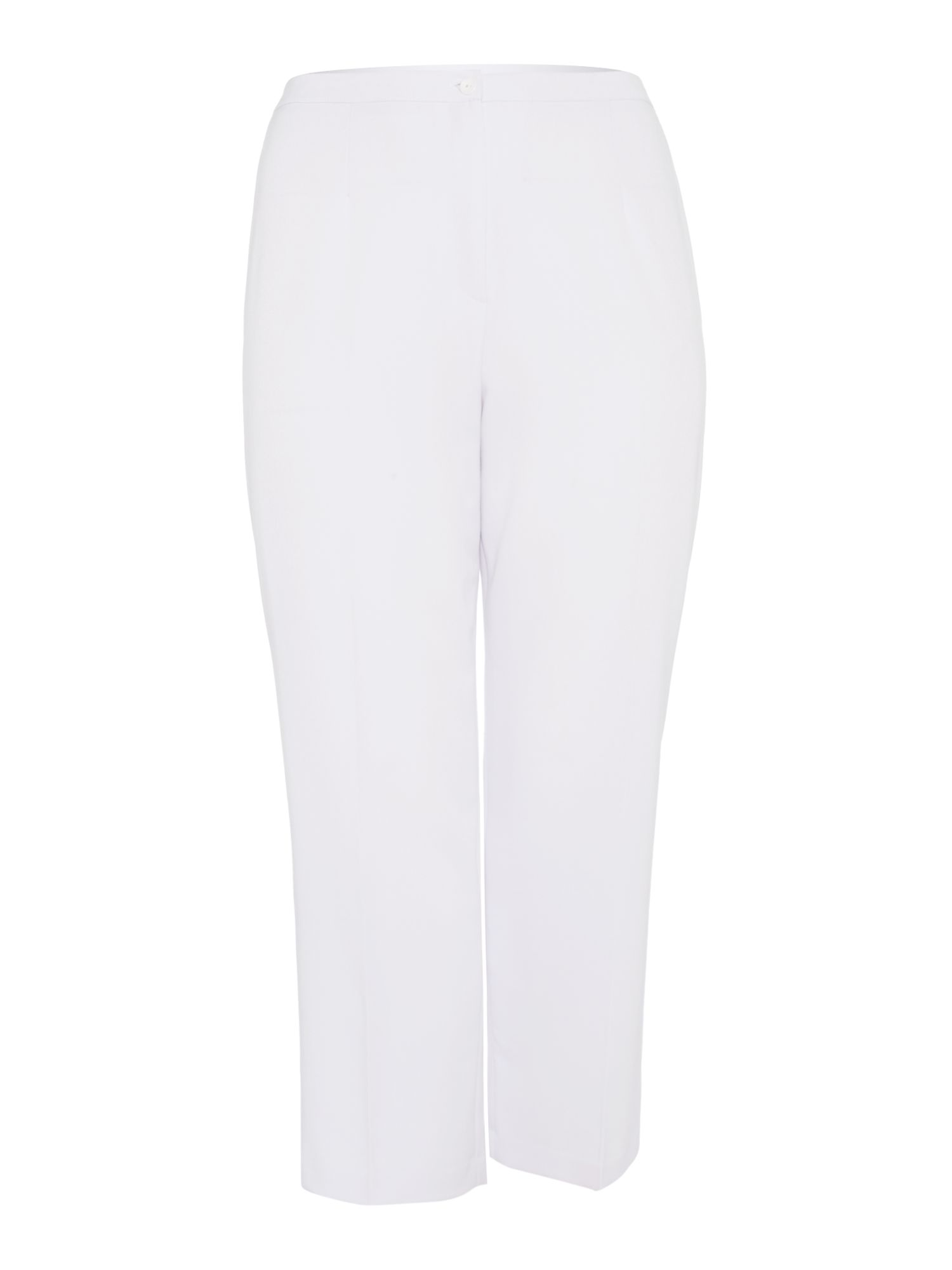Annabelle Annabelle Plus Size Tailored trousers, White