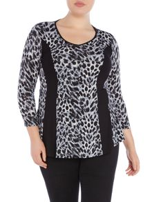 Annabelle Plus Size Printed top