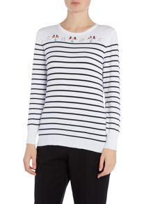 Annabelle Striped Jumper