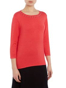 Annabelle 3/4 Length Sleeve Jumper