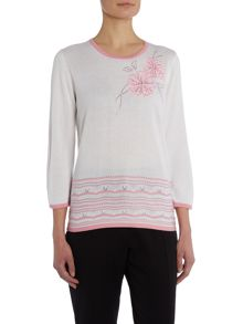 Annabelle Embroidered Jumper