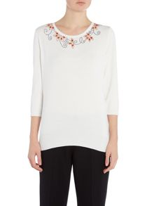 Annabelle Jewel Embellished Jumper