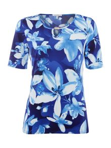 Annabelle Keyhole Printed Top