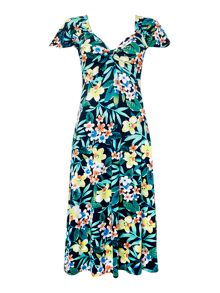 Annabelle Fit And Flare Dress