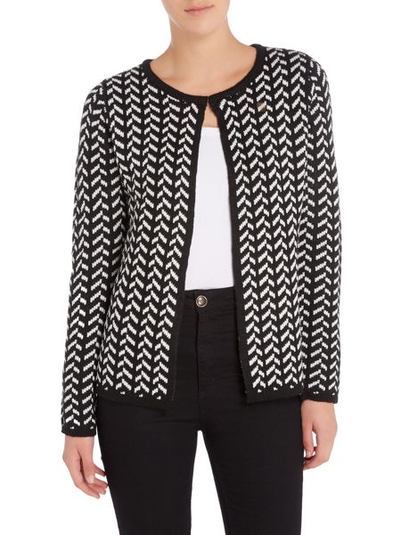 Annabelle Monochrome Knitted Cardigan