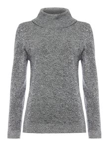 Annabelle Polo neck jumper