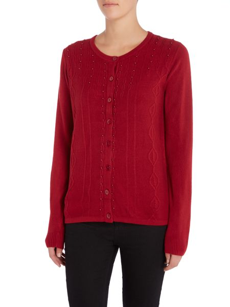 Annabelle Embellished Knitted Cardigan