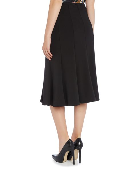 Annabelle Plain Panelled Skirt