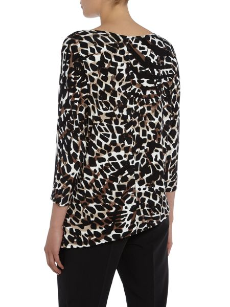 Annabelle Asymetric Printed Top