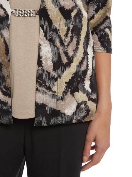 Annabelle Printed 2 in 1 Top