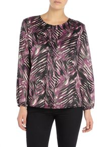 Annabelle Printed Blouse