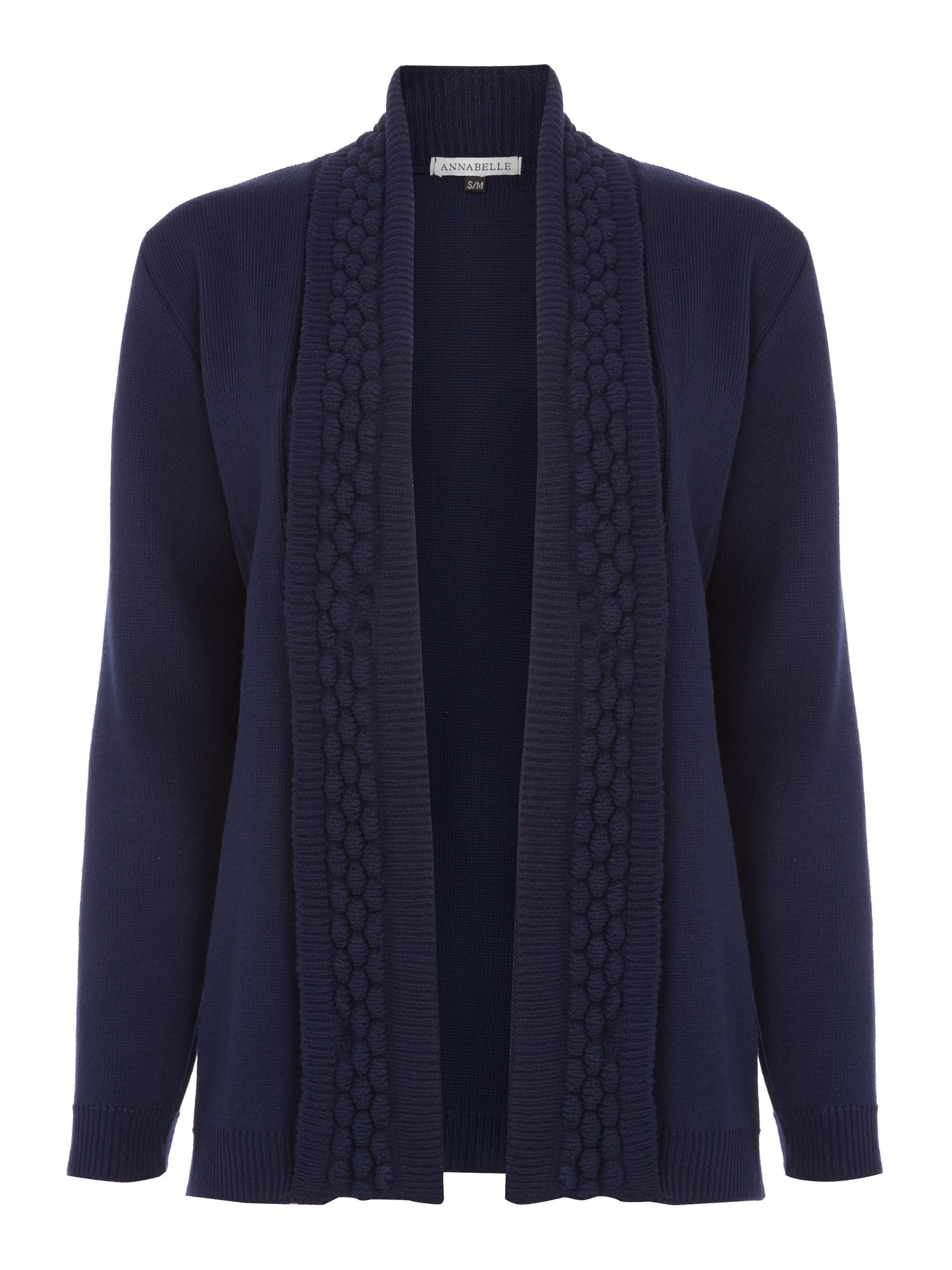 Annabelle Annabelle Knitted Cardigan, Navy