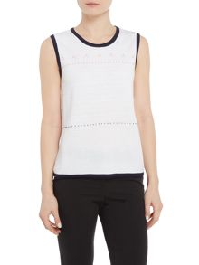 Annabelle Sleeveless Jumper