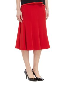 Annabelle Plain Ten Panelled Skirt