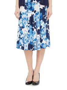 Annabelle Half circle printed skirt