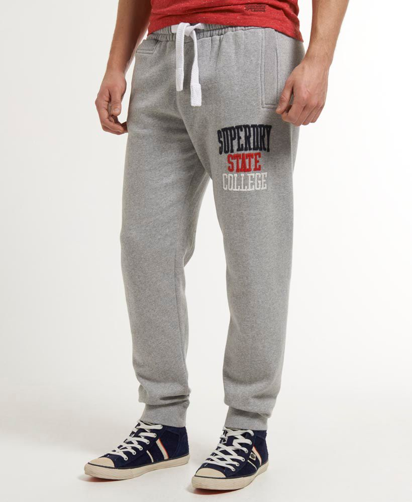 Applique slim jogger