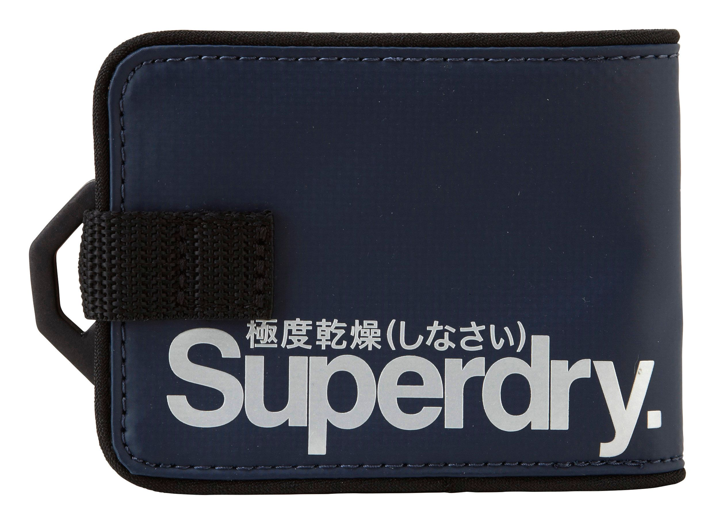 Pop strap tarp wallet