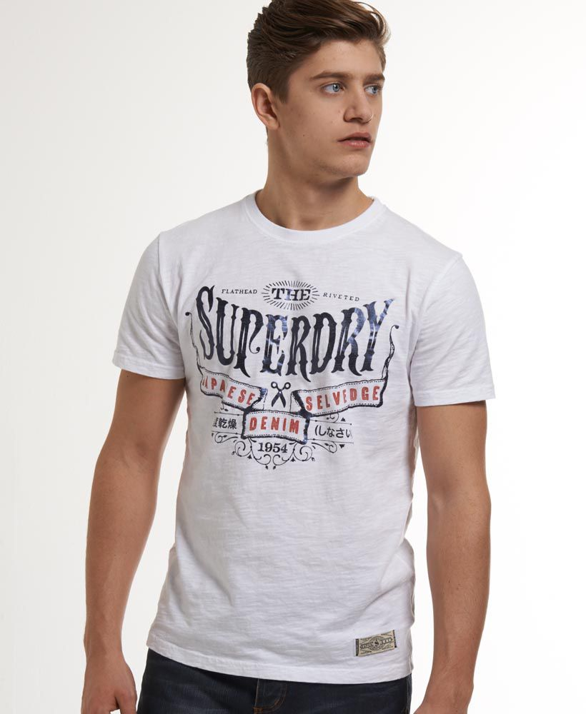 Selvedge t-shirt