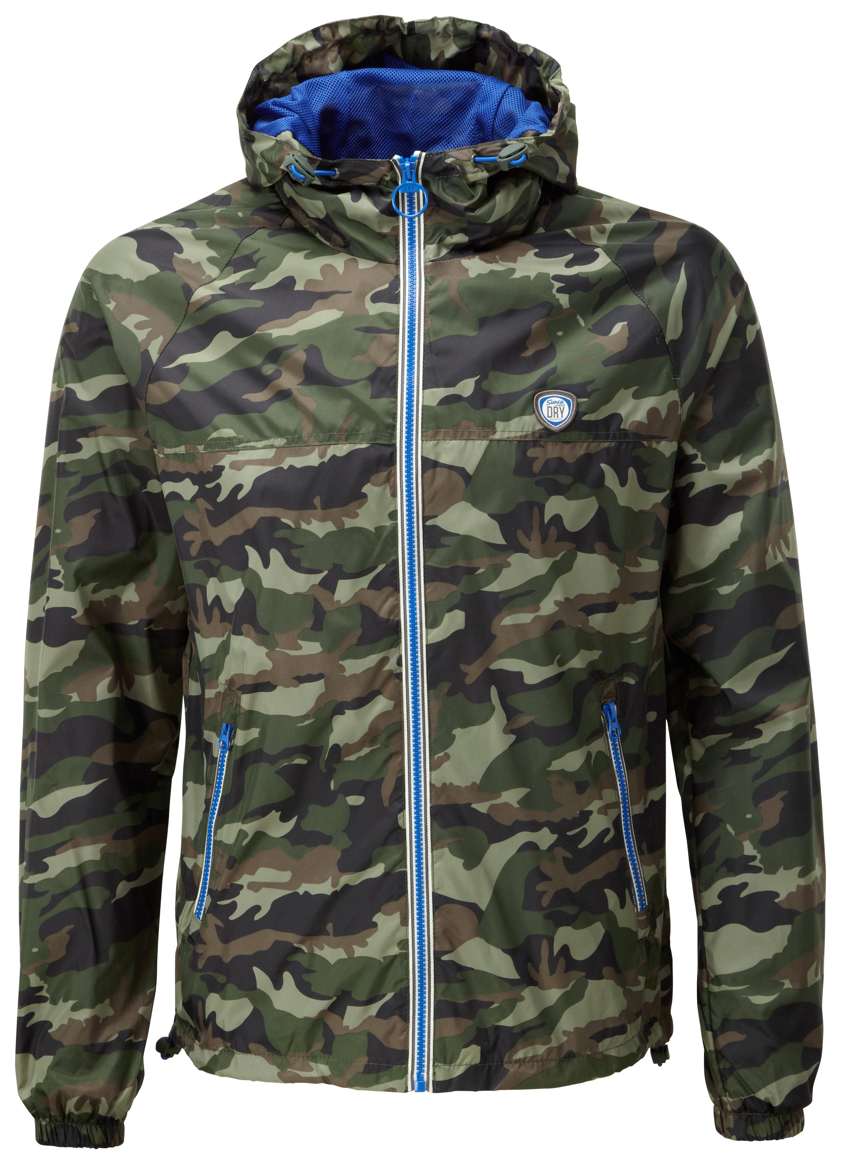 Zip through cagoule