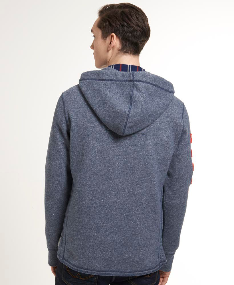 Hooded challenger henley