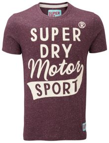 Sport worn wash t-shirt
